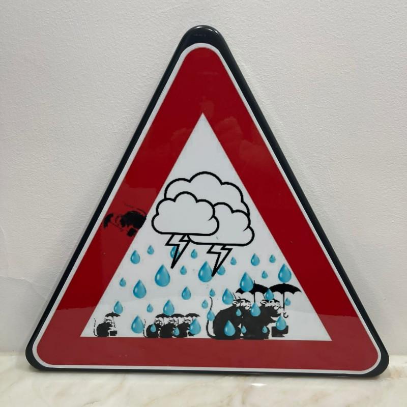 """""""Under the rain vs Banksy"""" by Mr Ogart"""