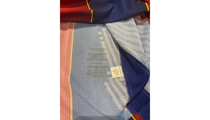 Messi's Barcelona Signed Match Shirt, 2020/21