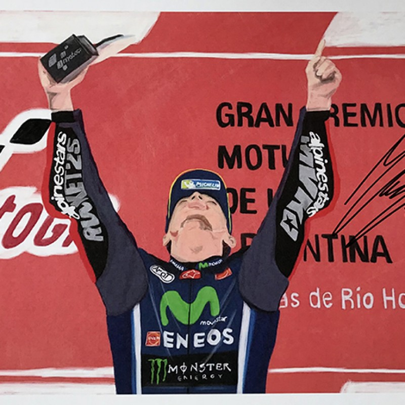 """Maverick Viñales: Race 2, Argentina"" by Tammy Gorali"