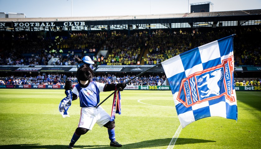 Mascot Experience with Ipswich Town FC