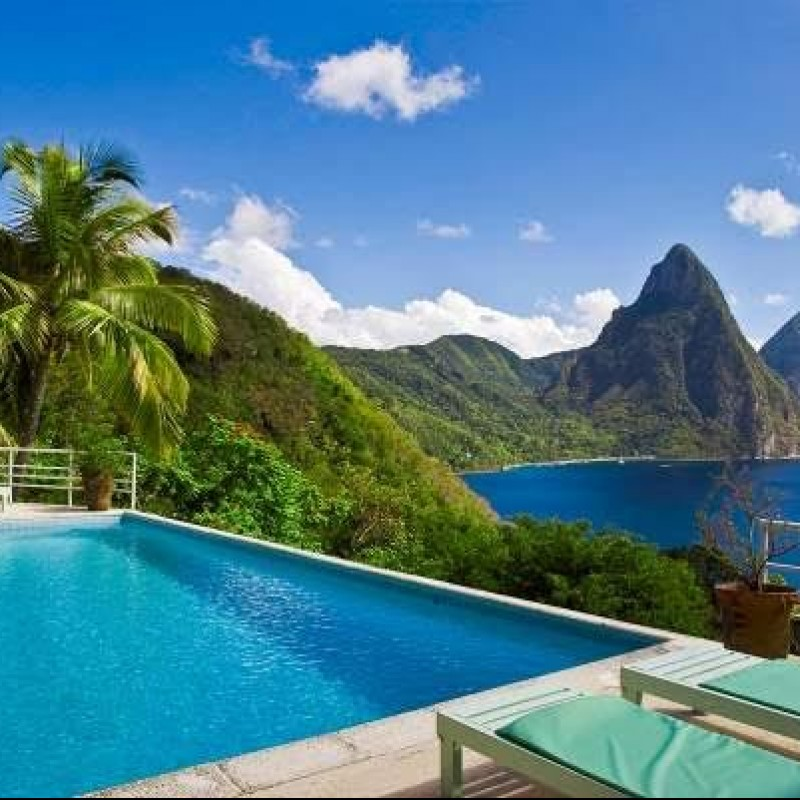 Stay in a St. Lucia Villa for 8