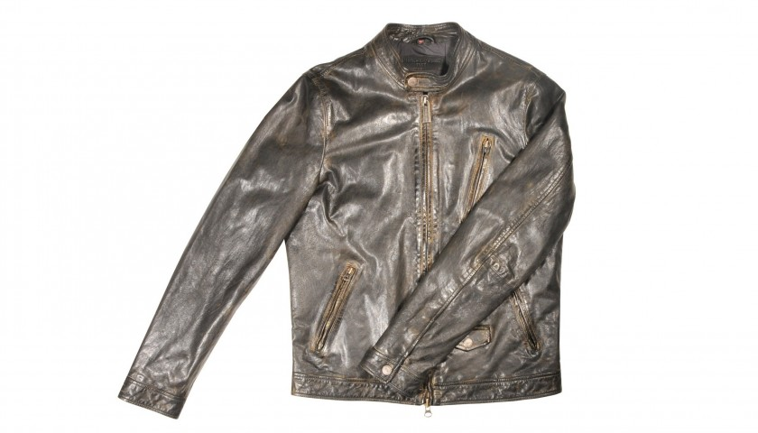 Minoronzoni Biker Leather Jacket
