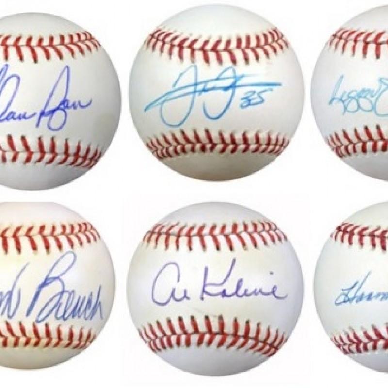 Baseball Legends Mystery Box: Hand Signed Baseball