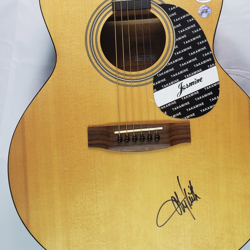 Toby Keith Hand Signed Takamine Jasmine Acoustic Guitar