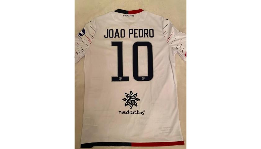 Joao Pedro's Worn Shirt, Lecce-Cagliari 2019