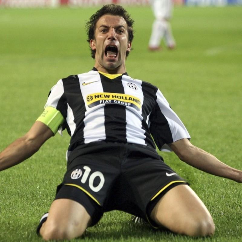 Del Piero's Juventus Training Shirt, 2009/10