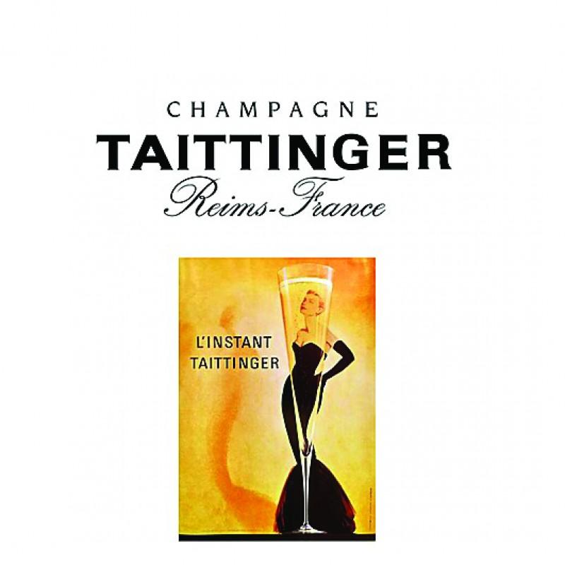 Vintage Taittinger Poster