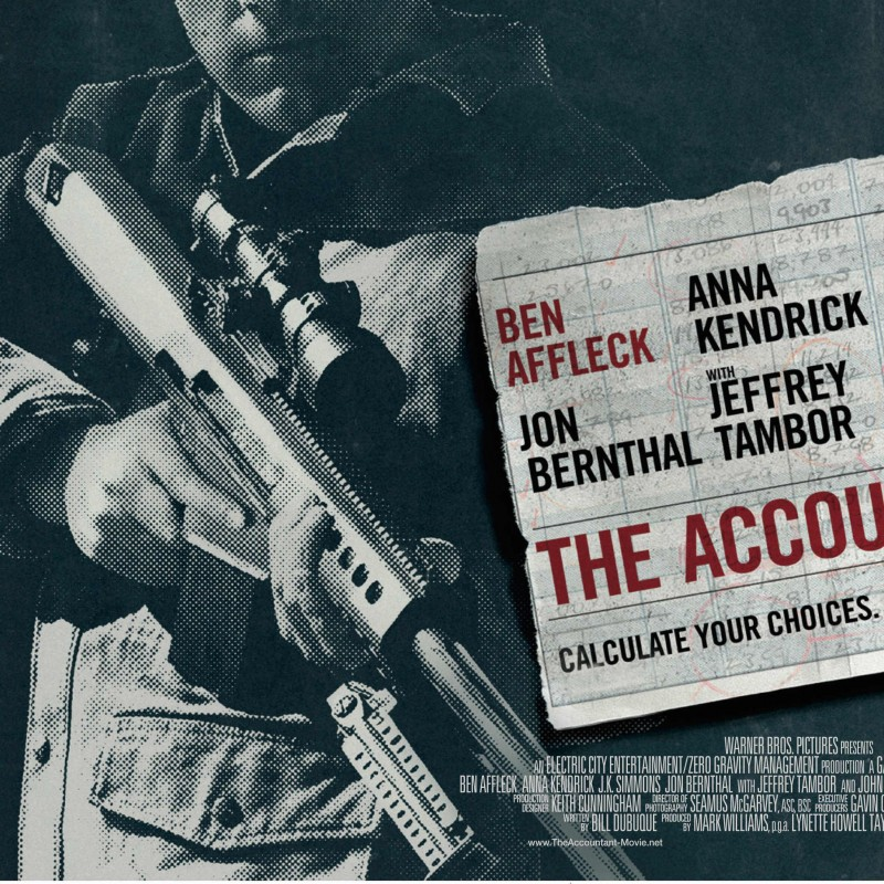 Two Tickets to European Premiere of The Accountant
