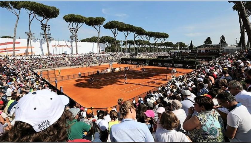 "Package for the Italian Tennis Open ""Internazionali BNL d'Italia"" 2020"