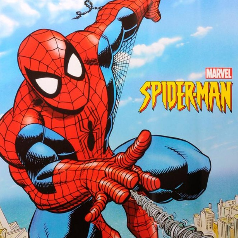 Super Rare Spider-Man Marvel Original Promo Poster