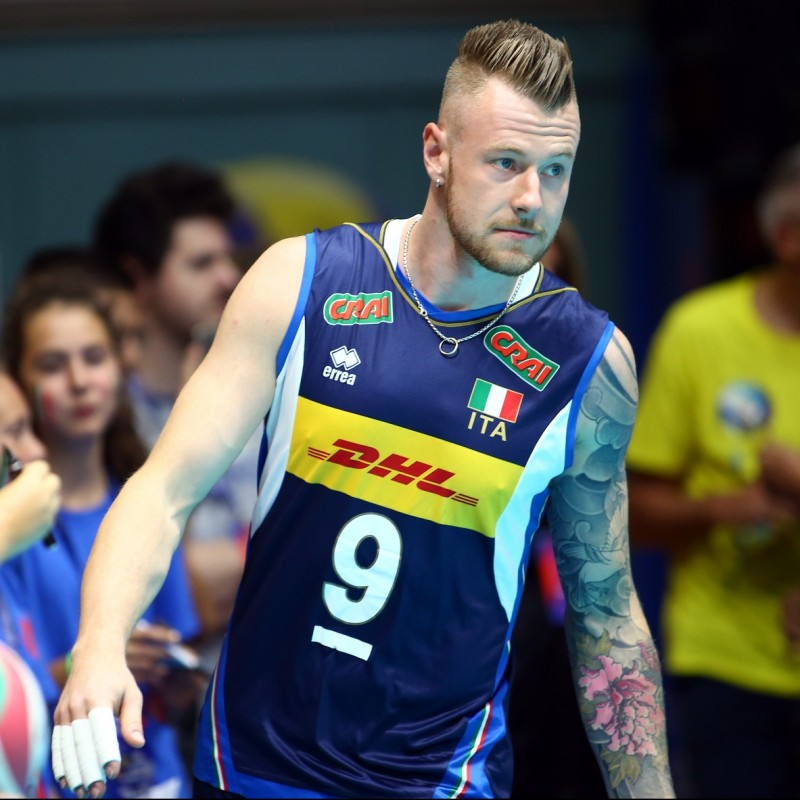 Official Italvolley Vest, 2019 - Signed by Zaytsev