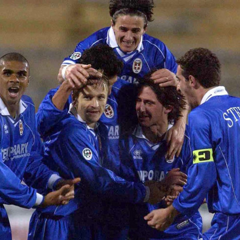 Bjelanovic's Worn Shirt, Como-Lazio 2002