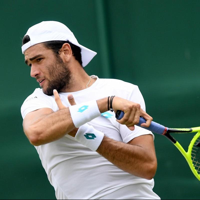 Maglia indossata e autografata da Matteo Berrettini - Wimbledon