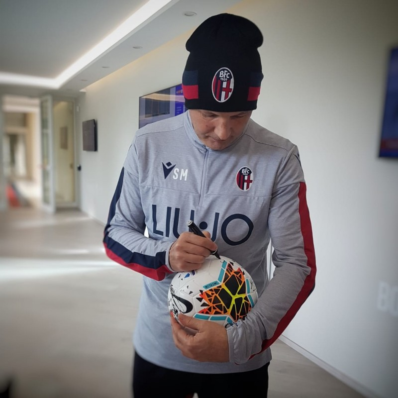 Serie A 2019/20 Matchball - Signed by Bologna