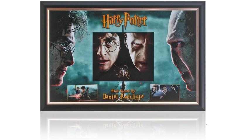 Daniel Radcliffe Hand Signed Harry Potter Presentation