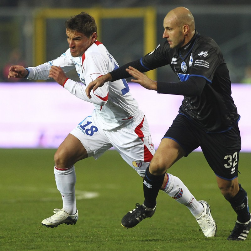 Cigarini's Match Shirt, Atalanta-Catania 2011