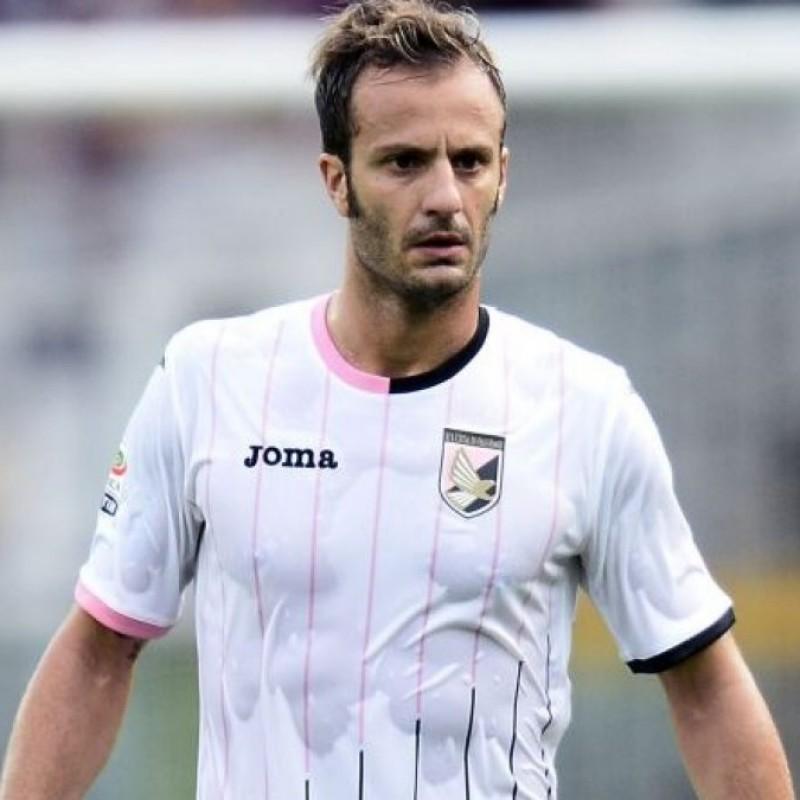 Gilardino's Palermo Match Shirt, 2015/16