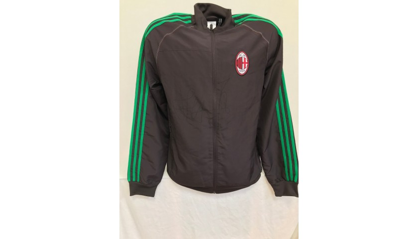 Official Milan Track Jacket Signed by Shevchenko