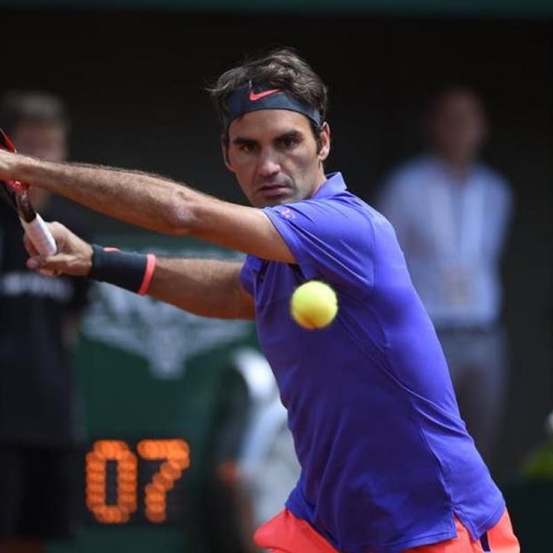 Federer's Match Shirt, Davis Cup 2015