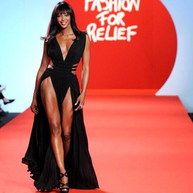 Attend Naomi Campbell's Gala in Cannes