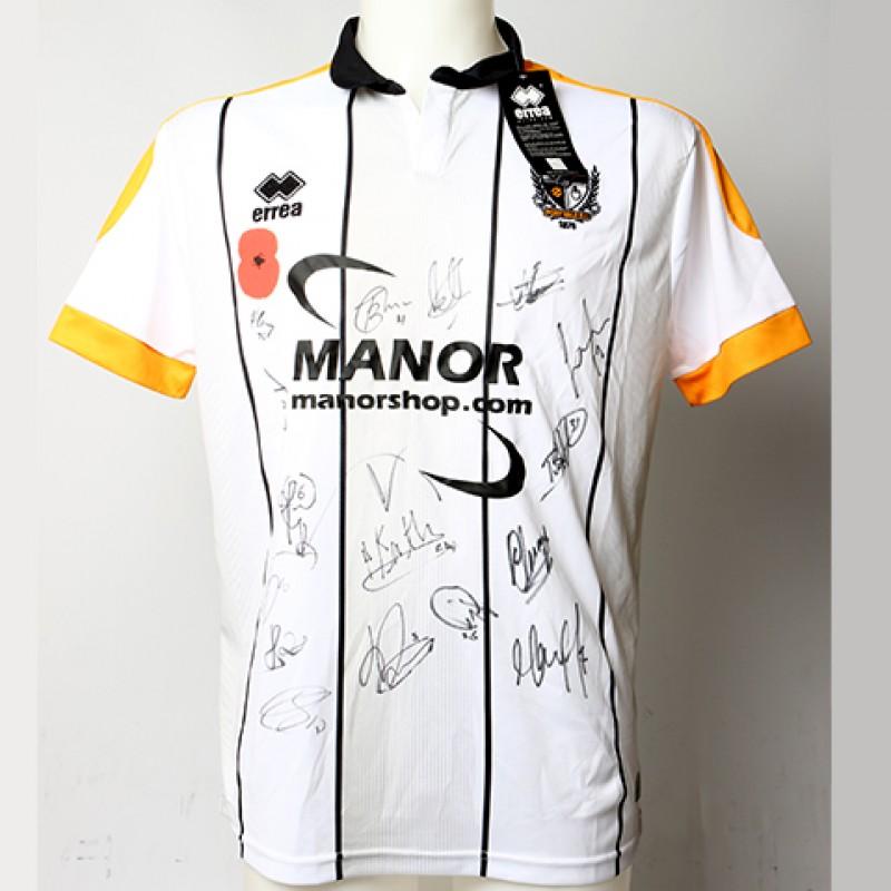 Poppy Shirt Signed by Port Vale F.C.