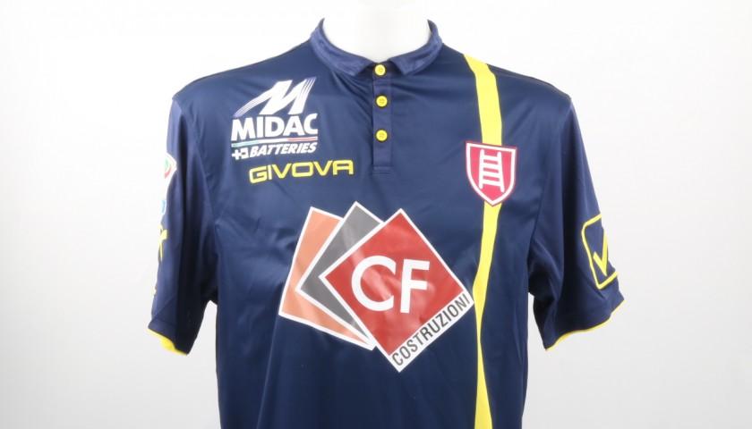 Spolli Chievo Match Worn Shirt, Serie A 2016/17