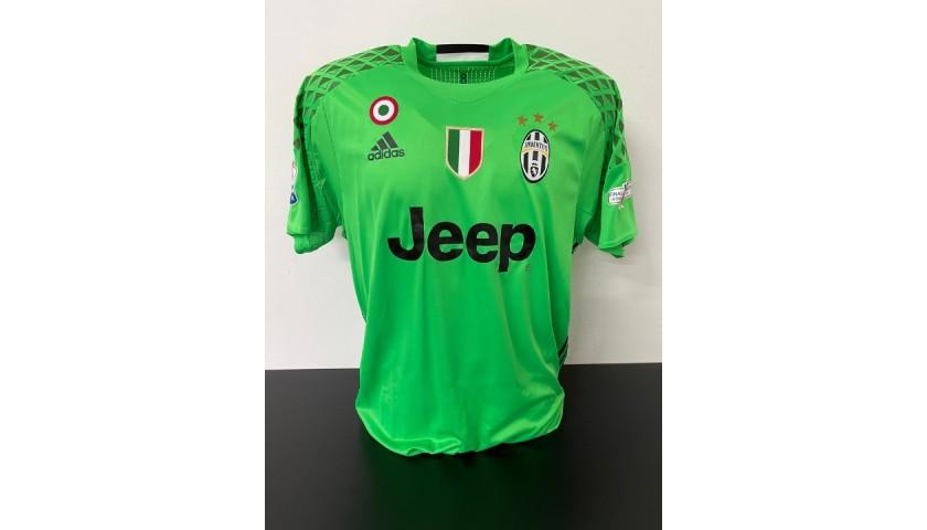 Neto's Juventus Match Shirt, TIM Cup 2017 Final