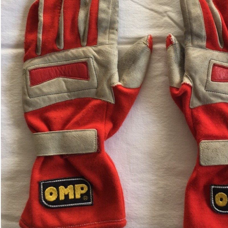 Michael Schumacher Ferrari 1996 OMP Worn Race Gloves