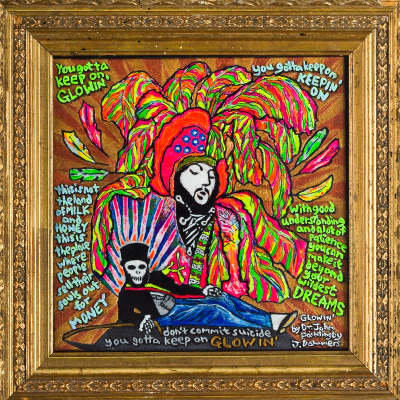 """""""Glowin"""" by Jerry Dammers inspired by Dr. John's Song"""