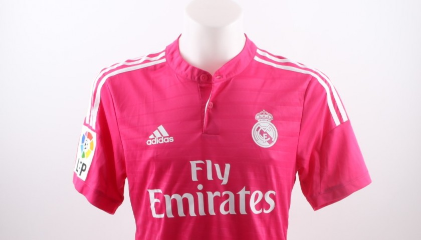 Bale Real Madrid shirt, issued/worn Liga 2014/2015