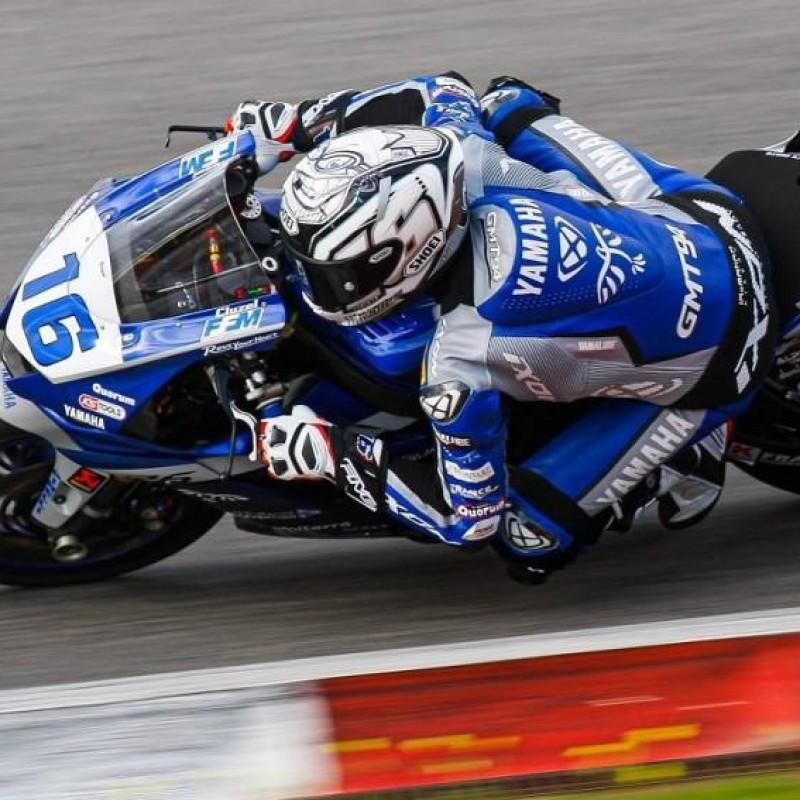 Yamaha Race Suit Worn by Jules Cluzel