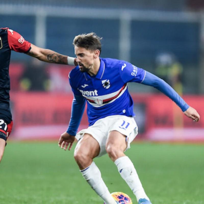 Ramirez's Worn Shirt, Genoa-Sampdoria, Special Gaslini