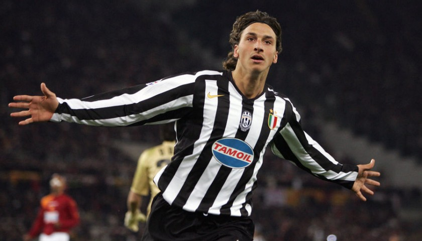 save off 7d76d 372a4 Ibrahimovic's Match-Issued/Worn Juventus Shirt, 2005/06 UCL - CharityStars