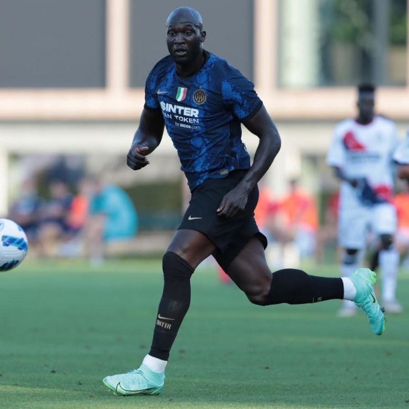 Lukaku's Official Inter Signed Shirt, 2021/22
