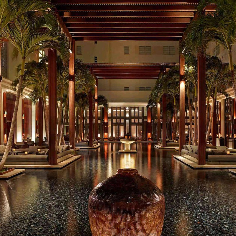 Enjoy Sunday Brunch and a Massage at The Setai Hotel in Miami