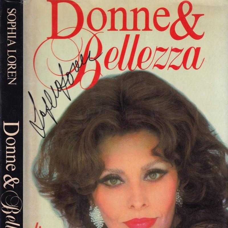 """""""Donne & Bellezza"""" Book Signed by Sophia Loren"""