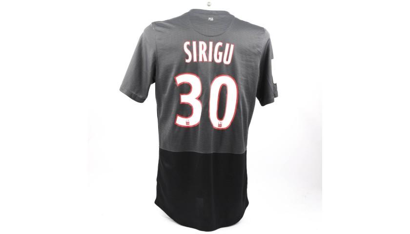 Sirigu's PSG Match-Issue/Worn Shirt, 2012/13