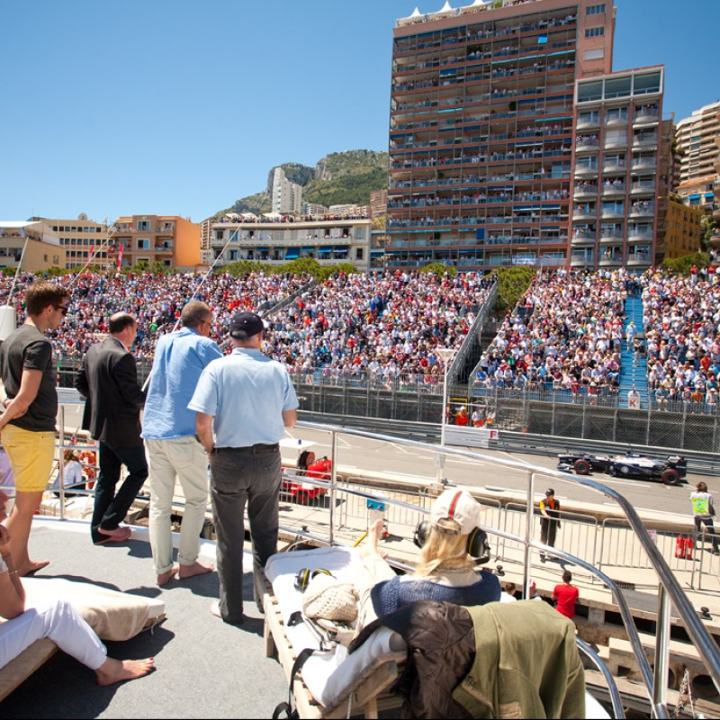 Monaco Grand Prix 2022 VIP Yacht Experience for Two