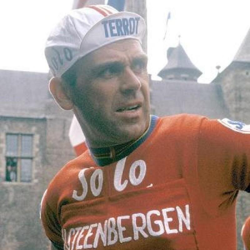 Solo Superia Jersey, 1960 - Signed by Rik Van Steenbergen