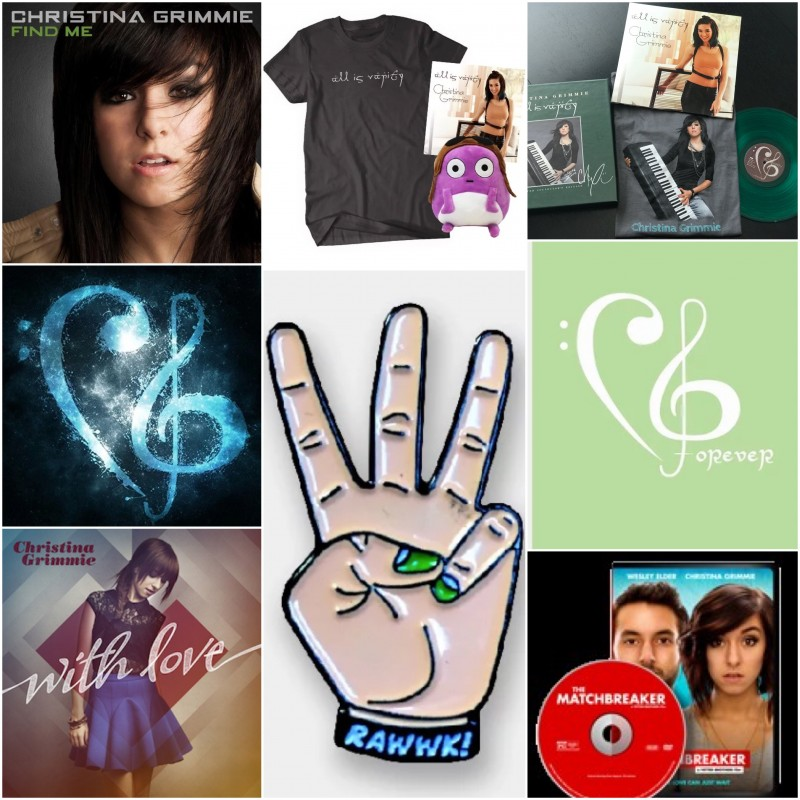 Christina Grimmie Ultimate Gift Basket
