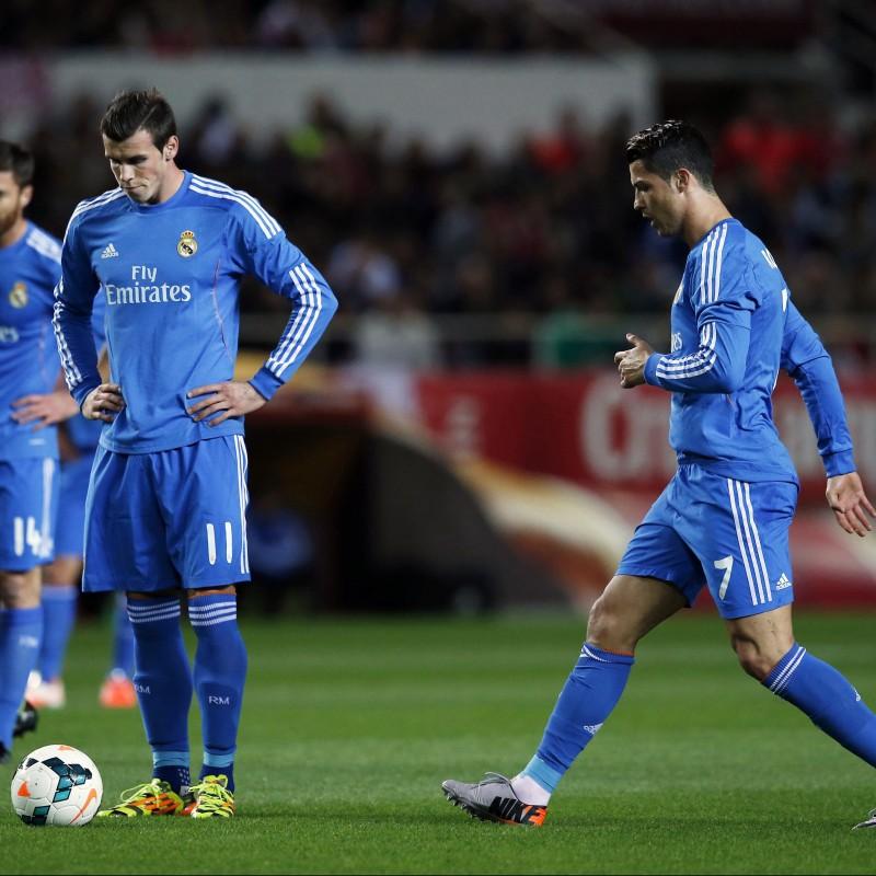 Bale's Match-Issued/Worn Real Madrid Shirt, Liga 2013/14