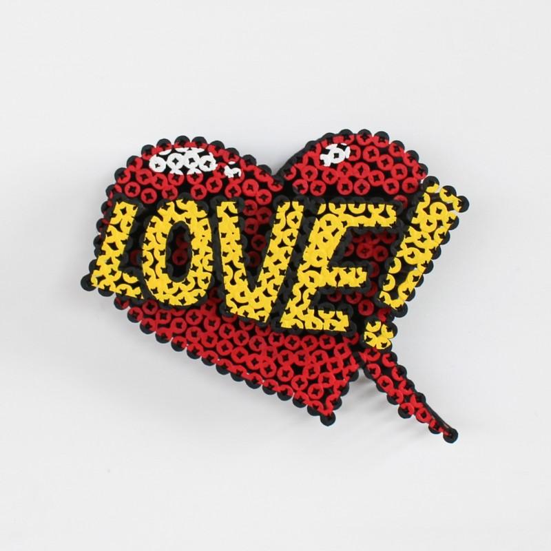"""Love!"" by Alessandro Padovan"