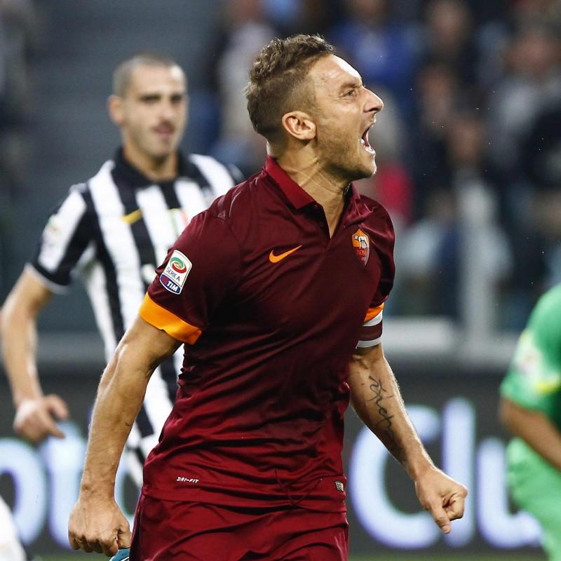 Maglia Totti indossata Juventus-Roma 2014