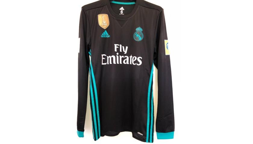 Bale's Match Shirt, Al-Jazira-Real Madrid 2017