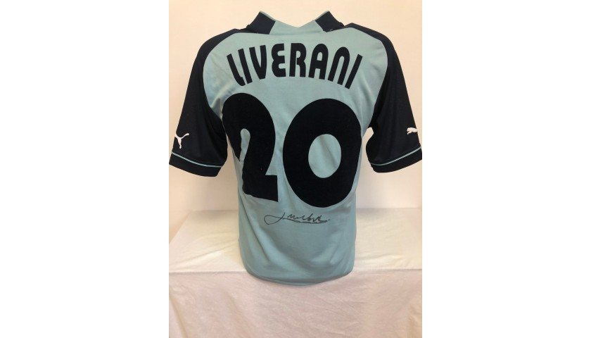 Liverani's Official Lazio Signed Shirt, 2002/03