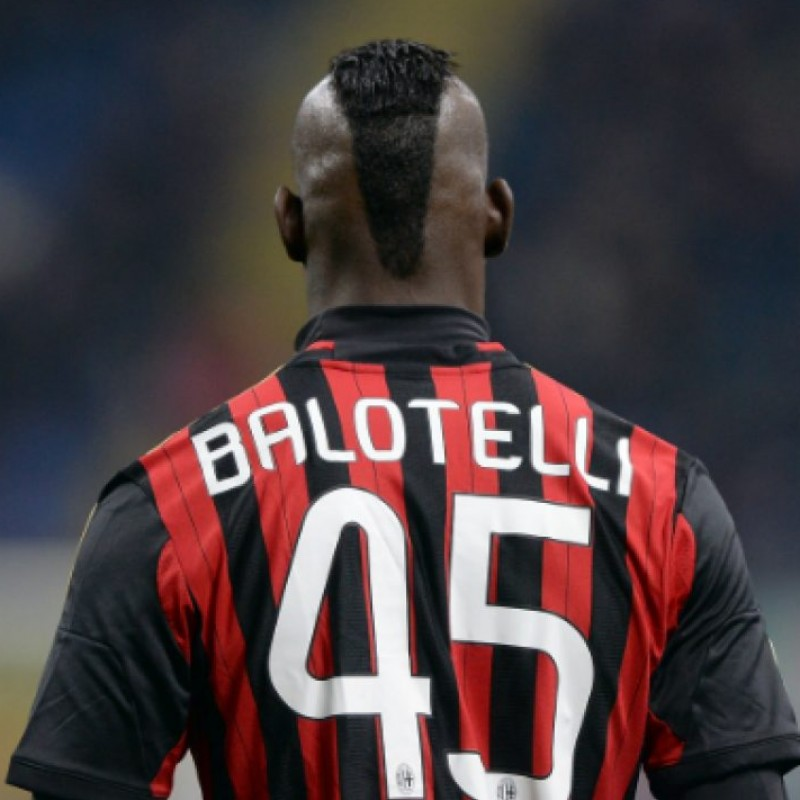 Balotelli's Official Milan Signed Shirt, 2013/14