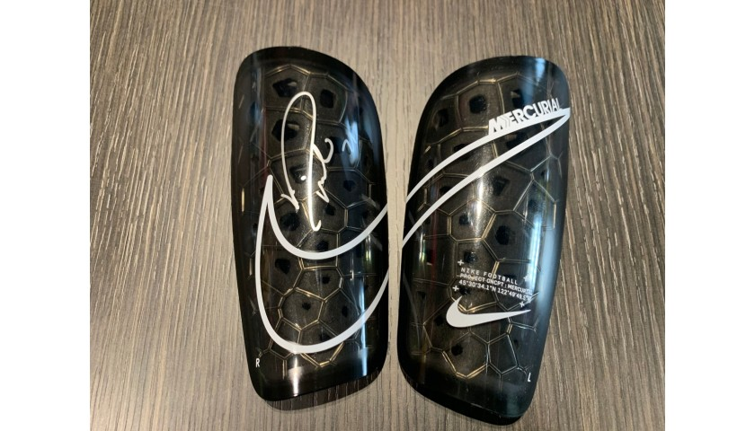 Nike Shin Pads - Signed by Pirlo