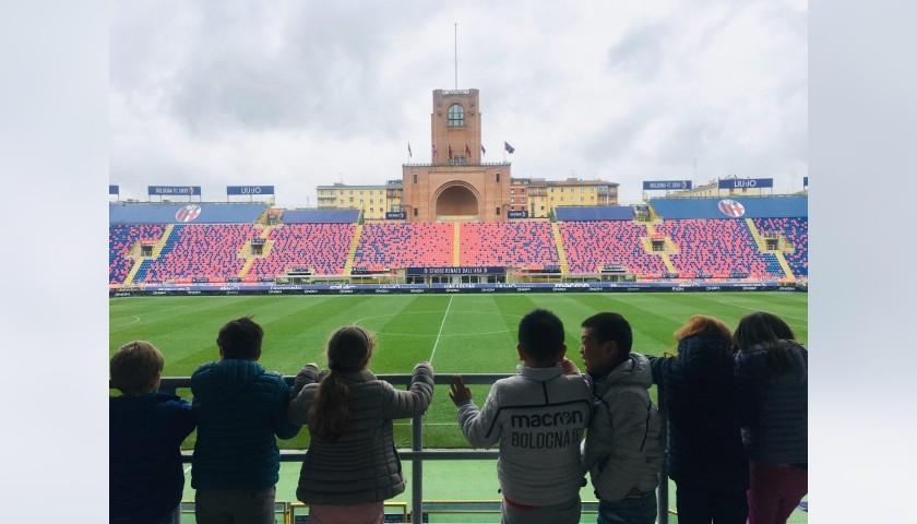 Enjoy a Bologna Match from the Central Stand + Stadium Tour