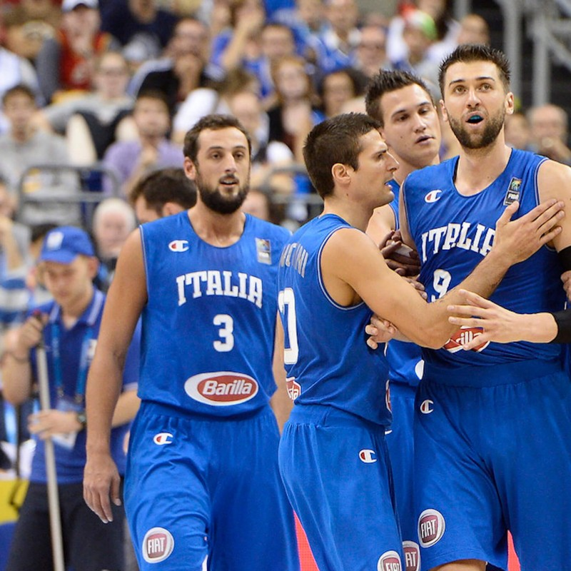 Match Shirt Italy Basket 2016