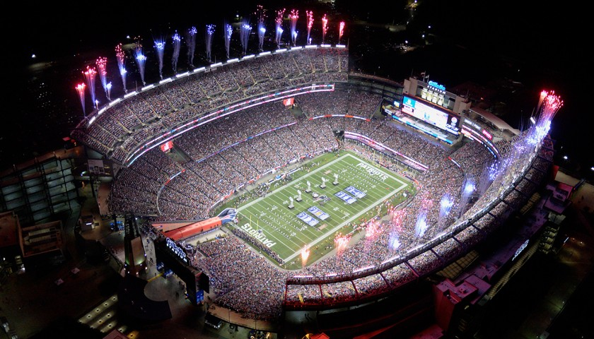 New England Patriots On-Field Halftime Experience